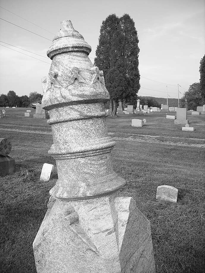 Night of the Living Dead: The Evans City Cemetery was used in the opening sequence of the movie. Other homes in Evans City, Pa., were used in the movie as well. (Photo: Planetschwa, Flickr) Photo: (Photo: Planetschwa,  Flickr)