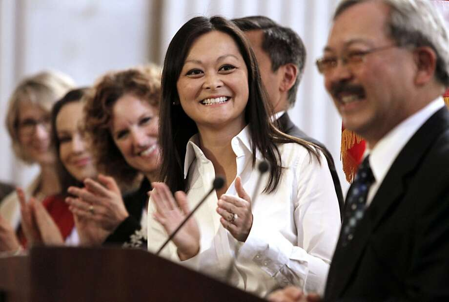 Carmen Chu ran unopposed. Photo: Michael Macor, The Chronicle