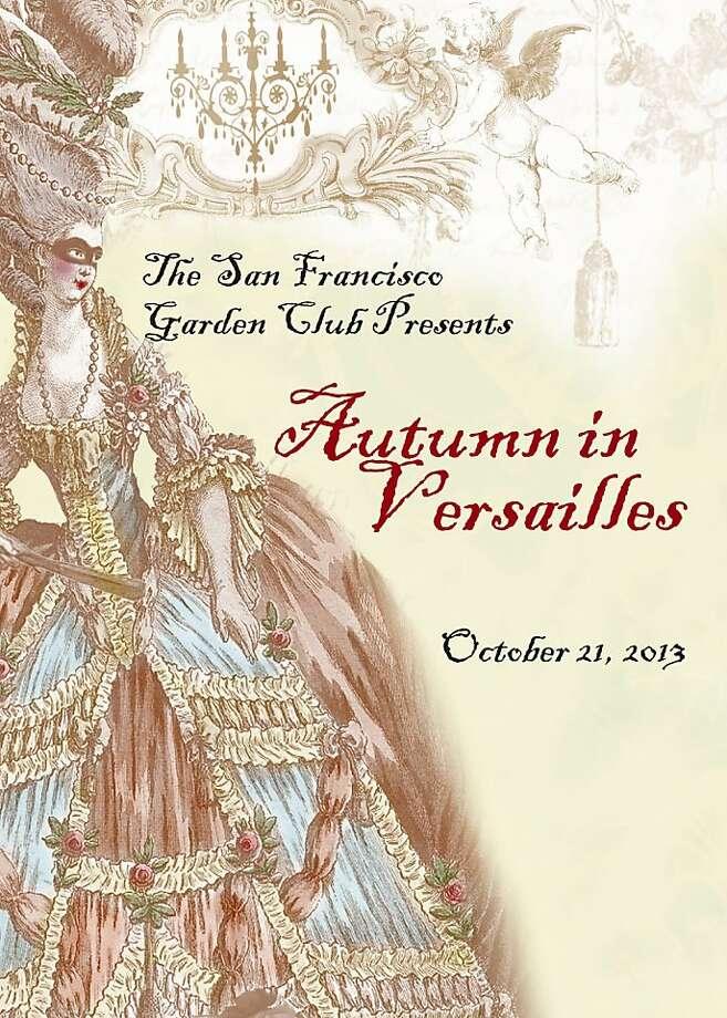 Autumn in Versailles Photo: San Francisco Garden Club