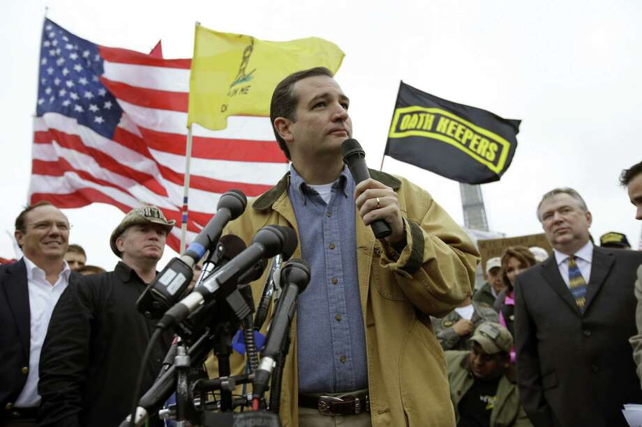 Tea party Sen. Ted Cruz's popularity with the GOP's extreme conservative wing is proof that some people don't place much value on realism. Photo: Alex Brandon / Associated Press