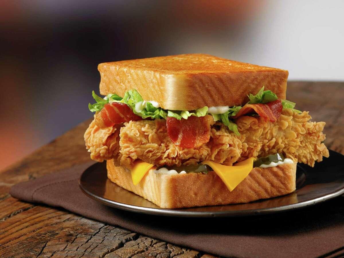 Big Tex Club Sandwich at Church's
