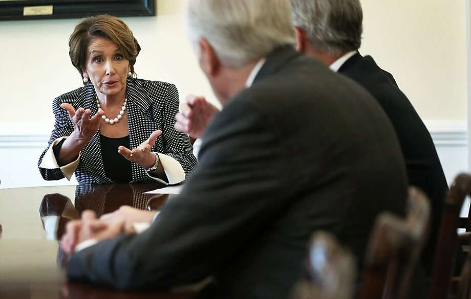 Rep. Nancy Pelosi may be in her most powerful position since losing the speakership. Photo: Alex Wong, Getty Images