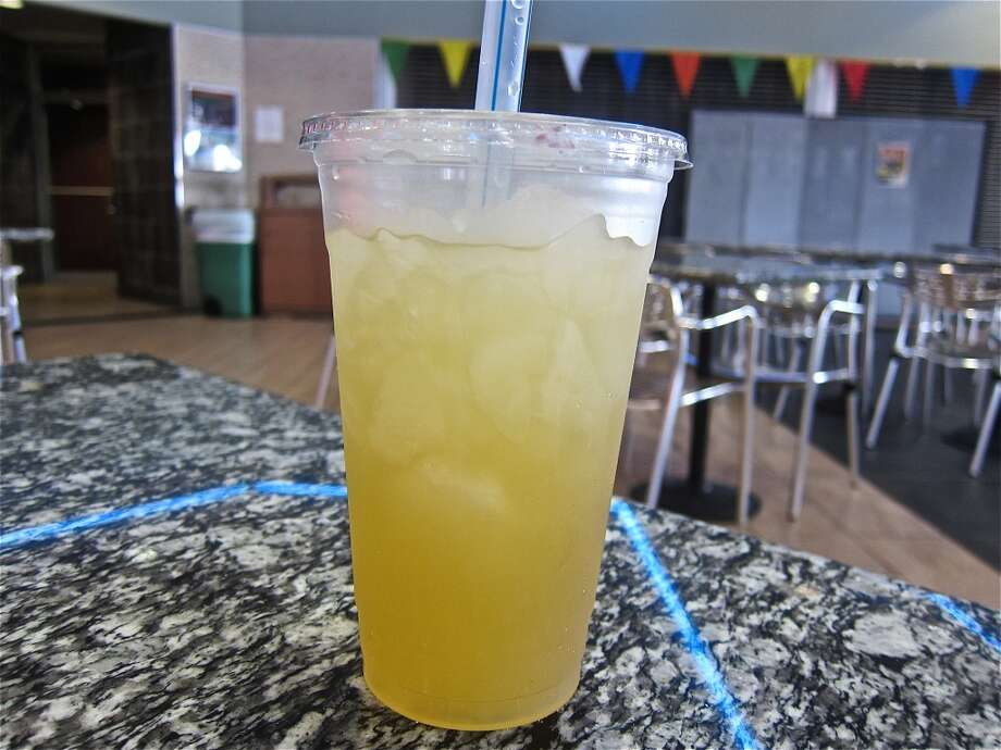 Calamansi juice at Jonathan's Grill, made from tart calamondin oranges. Photo: Alison Cook