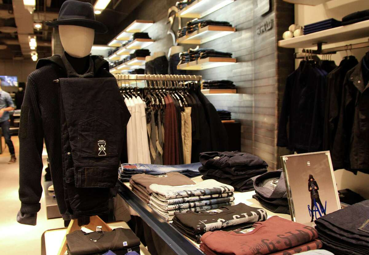 Interior of G-Star RAW, a Dutch designer clothing company that produces denim clothing at their new location in the Galleria, Friday, Oct. 11, 2013, in Houston. ( Karen Warren / Houston Chronicle )