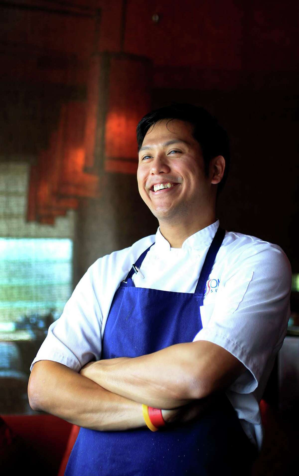 Soma Sushi co-executive chef Mark Gabriel Medina says he likes creating food that's comforting and influenced by the South, using local ingredients whenever possible.