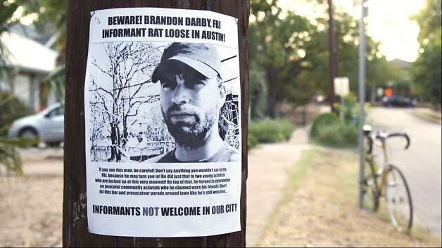 """Informant"" looks at radical turned FBI ally Brandon Darby. Photo: Music Box Films"