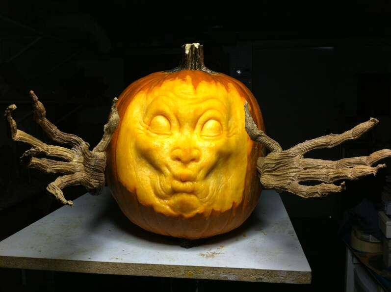 A 3d Pumpkin Sculpture By Alfred Paredes Photo Photo 72237