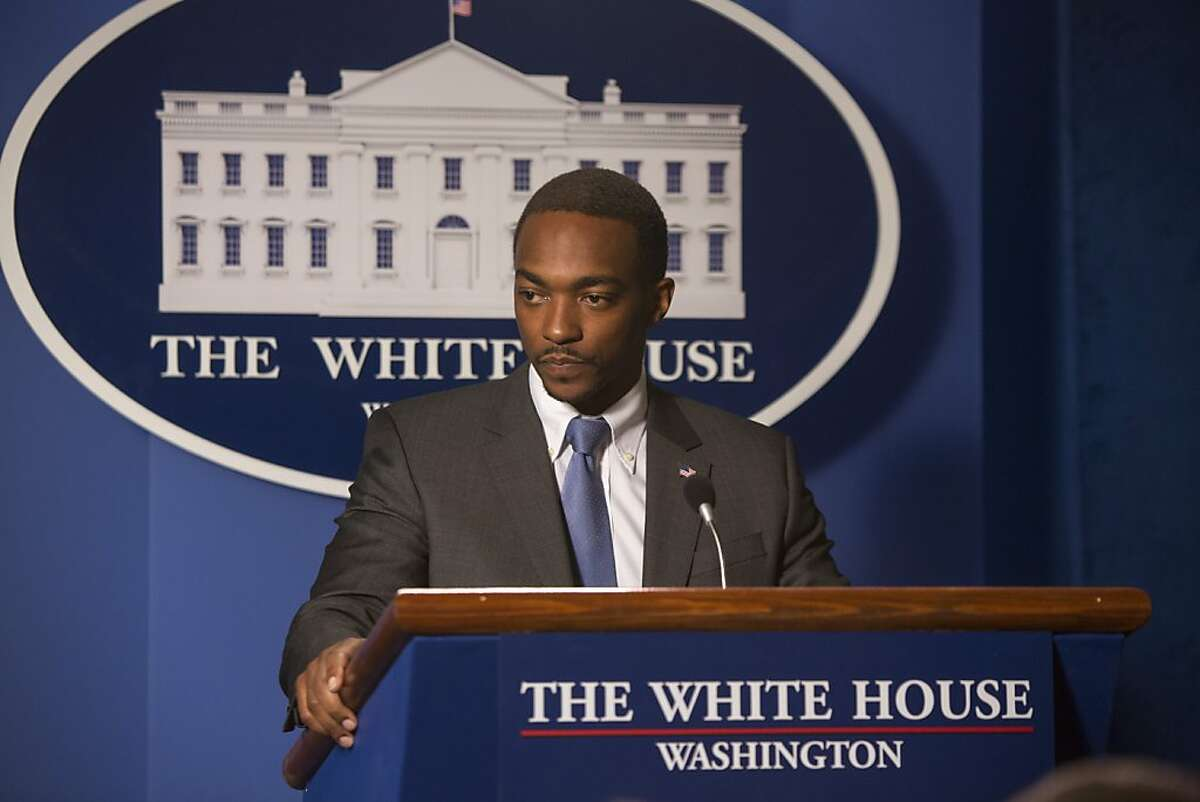 Anthony Mackie stars as White House Deputy National Security Advisor Sam Coulson, in DreamWorks Pictures'