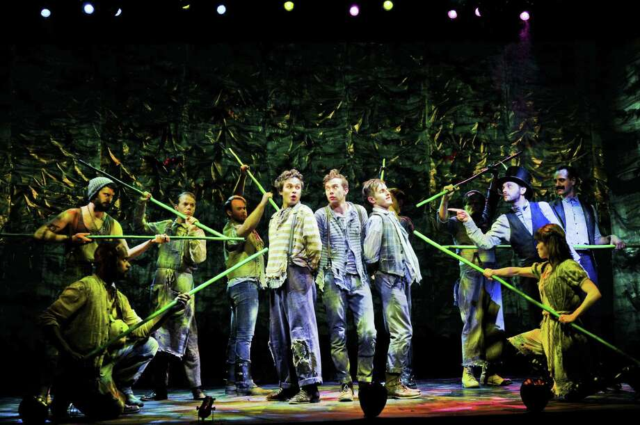 """Peter and the Starcatcher,"" a prequel to the beloved ""Peter Pan,"" has its own fans now — along with five Tony Awards. Photo: Courtesy Photo"