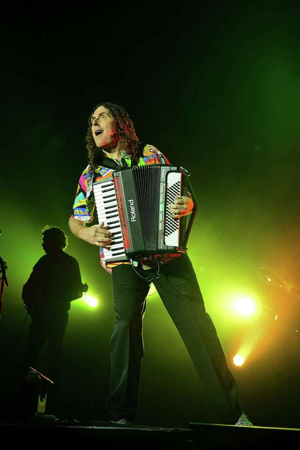 Weird Al Yankovic performs  in Bethlehem, Pa. He's a product of MTV who doesn't limit himself to the obvious music parodies. Photo: Getty Images