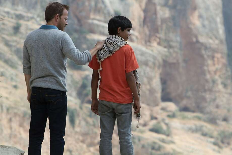 Stephen Dorff plays an Israeli pilot captured by the PLO and Abdallah El Akal is his 12-year-old guard. Photo: Eitan Riklis, Strand Releasing