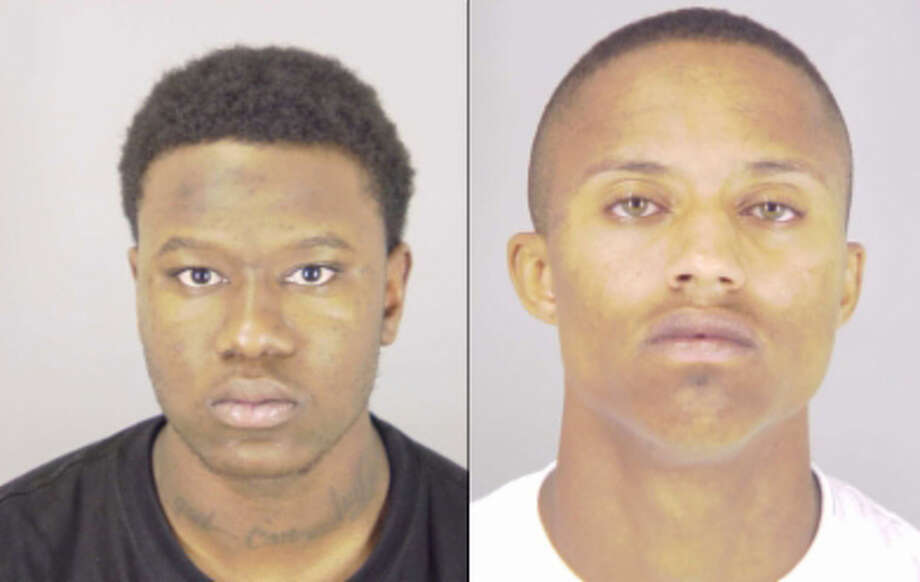 Eric Young, 20, and Nicholas Bryant, 18, both of Beaumont Photo: Photo Provided By