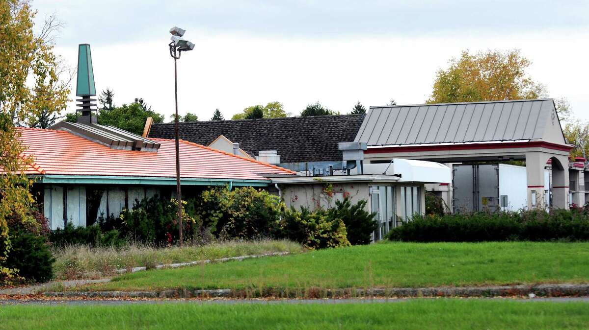 Former Howard Johnson hotel on Wednesday, Oct. 16, 2013, in Albany, N.Y. (Cindy Schultz / Times Union)