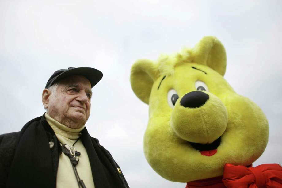 The Oct. 22, 2009 photo shows Hans Riegel, the longtime boss of German candy maker Haribo who took the gummi bear to international fame, in Bonn, western Germany.  Haribo said in a statement that Riegel, the son of the company's founder, died of heart failure in Bonn on Tuesday. He was 90. (AP Photo/dpa, Rolf Vennenbernd) ORG XMIT: FOS205 Photo: Rolf Vennenbernd / dpa
