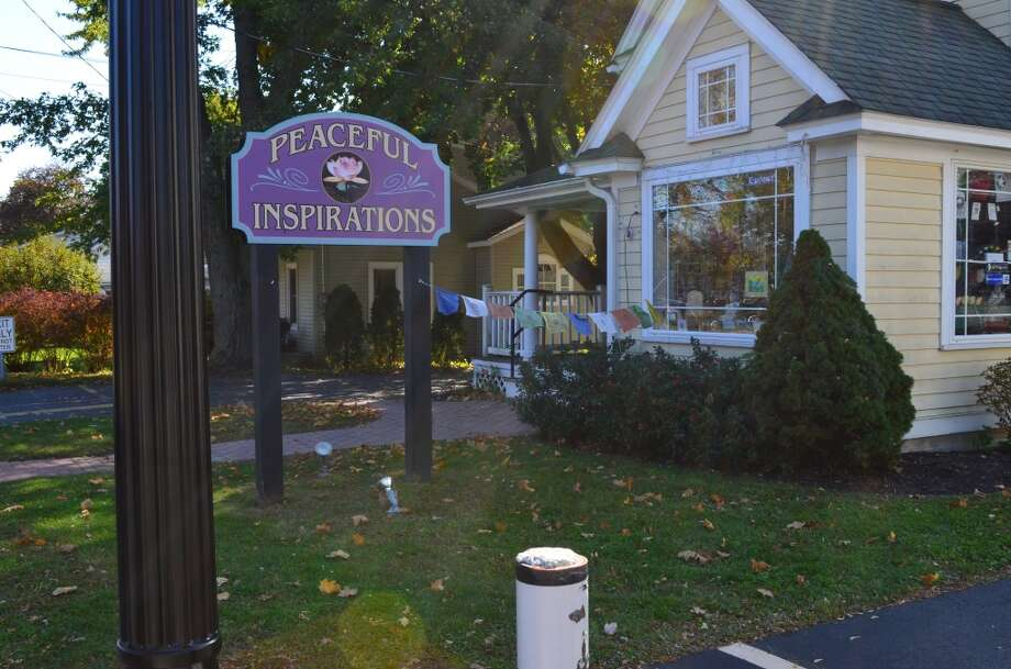 """Peaceful Inspirations"" is a small shoppe voted best metaphysical shop near the four corners. It has candles, books, greeting cards and lots of meditation and yoga supplies. It has a very earthy rustic feel and is one of the funkier stores in Delmar. Photo: Audrey Goodemote"