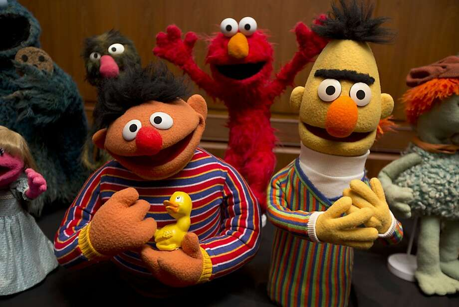 "Ernie and Bert of ""Sesame Street,"" which Jim Henson viewed as ""a placeholder until a better opportunity came along."" Photo: Jacquelyn Martin, Associated Press"