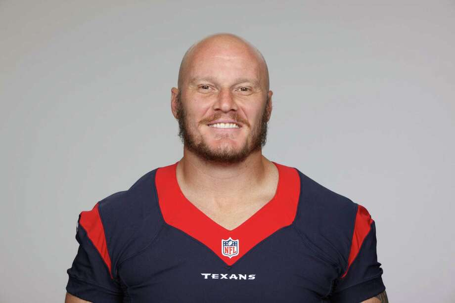 This is a 2013 photo of Chris Myers of the Houston Texans NFL football team. This image reflects the Houston Texans active roster as of Thursday, June 20, 2013 when this image was taken. (AP Photo) Photo: Uncredited, FRE / AP2013