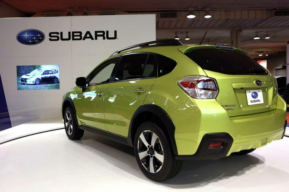 A Subaru XV Crosstrek Hybrid.