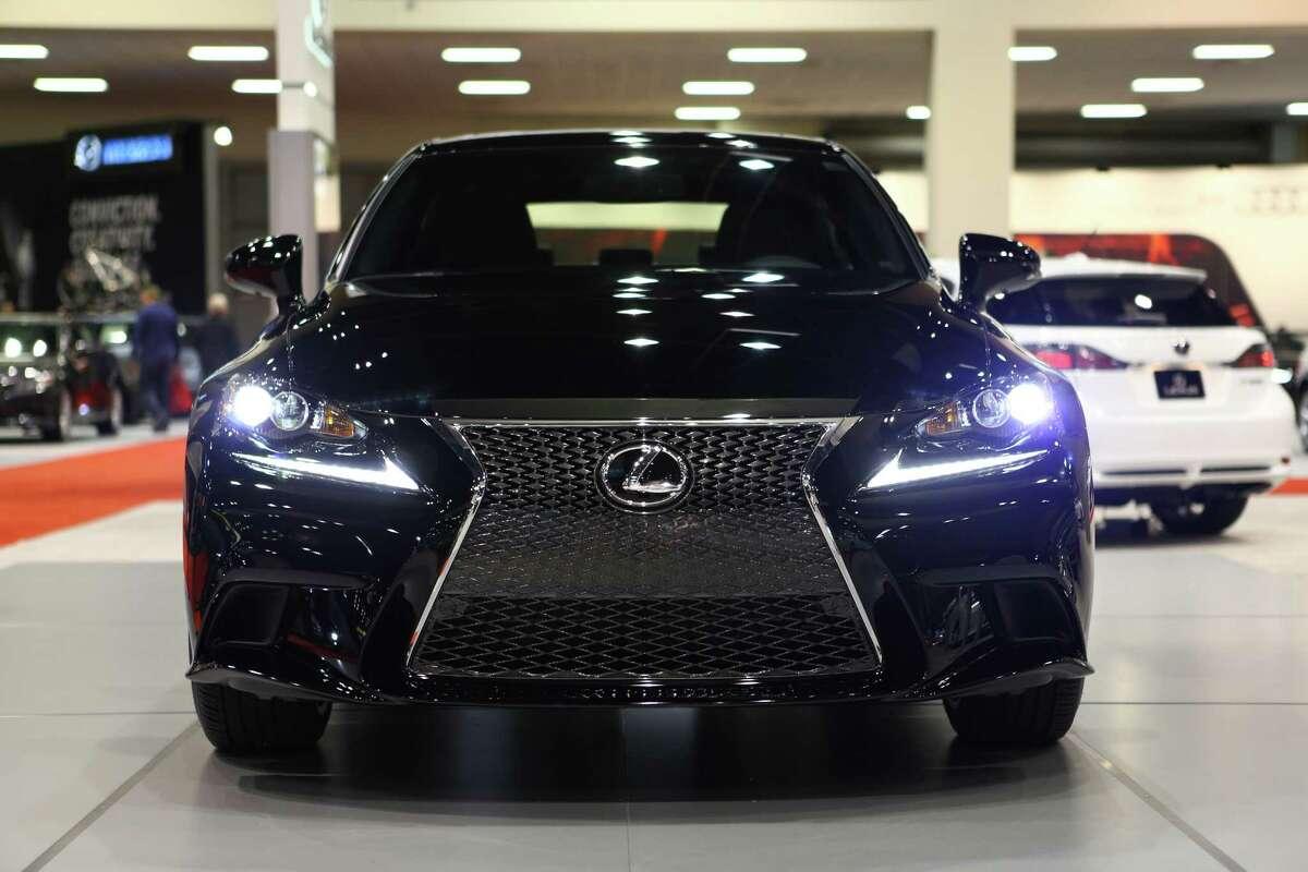 2. Lexus IS 250 $1,161 below the state average