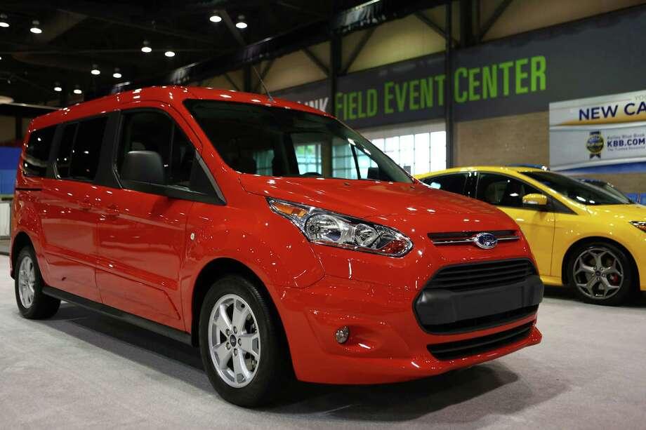 A Ford Transit Connect passenger car. Photo: JOSHUA TRUJILLO, SEATTLEPI.COM / SEATTLEPI.COM