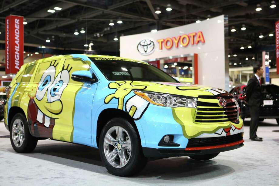 A Sponge Bob-themed Toyota Highlander. Photo: JOSHUA TRUJILLO, SEATTLEPI.COM / SEATTLEPI.COM