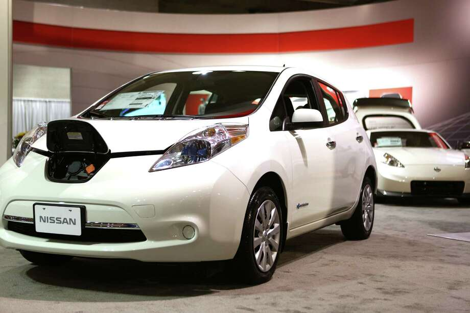 A Nissan Leaf electric. Photo: JOSHUA TRUJILLO, SEATTLEPI.COM / SEATTLEPI.COM