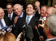 Mark Cuban savors his victory in court after the trial in Dallas. Cuban carried a wild card in his case: a hometown jury. Cuban is generally well liked in Dallas, where his Mavericks were champions of the National Basketball Association in 2011.