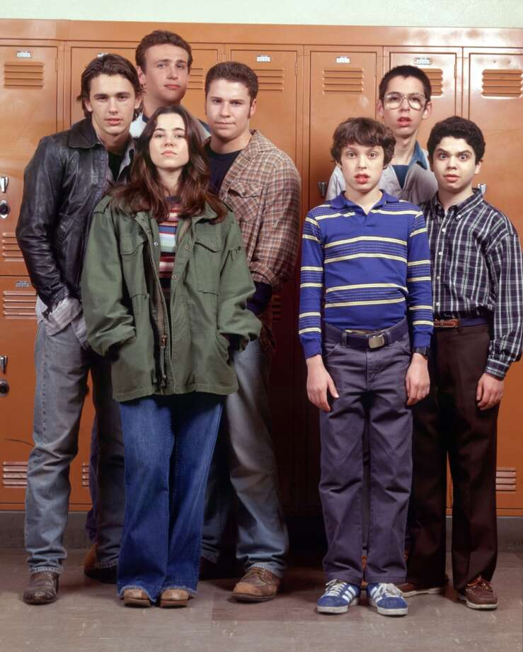 """Freaks and Geeks"" was the first place where many viewers saw future stars James Franco, Jason Segel and Seth Rogen. Photo: Chris Haston, NBC"