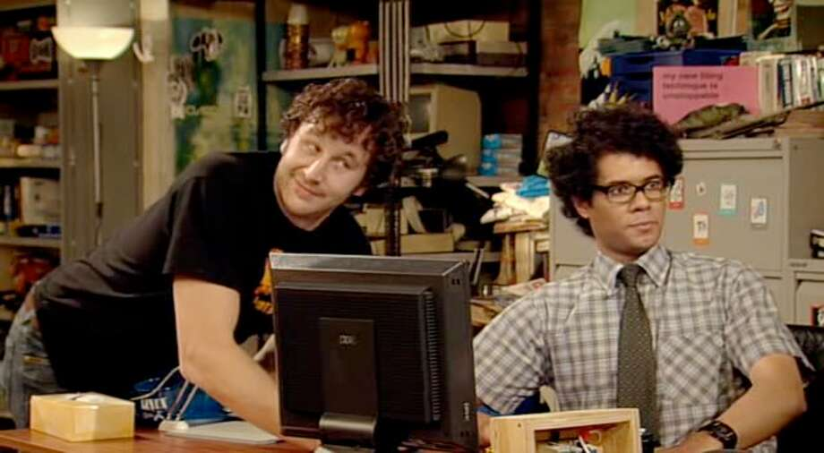 "Now that it has been turned off, we wish they'd turn ""IT Crowd"" back on again. Photo: Channel 4"