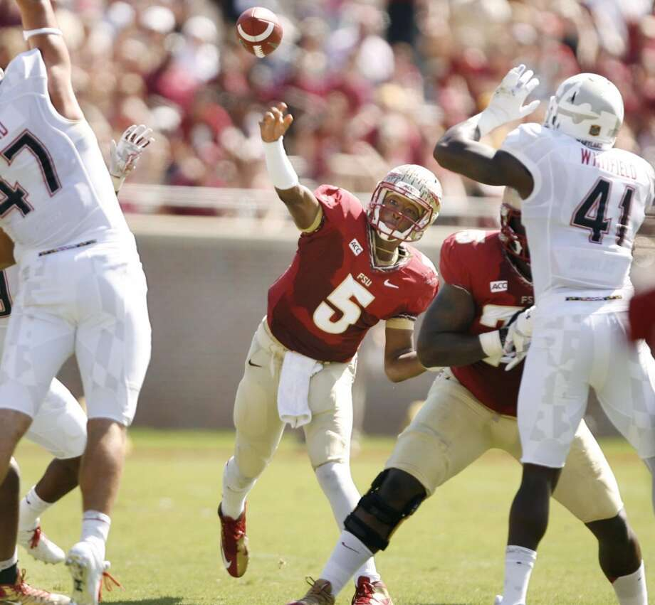 Jameis Winston 11/2Florida State, Freshman, QBStats: 90-123, 1,441 yards, 17 TDs, 2 INT, 36 rushes, 135 yards, 2 TDs Photo: Stephen M. Dowell, McClatchy-Tribune News Service
