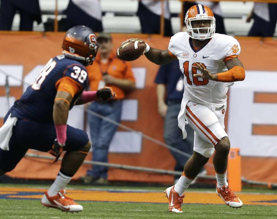 Tajh Boyd 7/1Clemson, Senior, QBStats: 123-185, 1,783 yards, 15 TDs, 2 INT, 66 rushes, 187 yards, 5 TDs Photo: Mike Groll, Associated Press