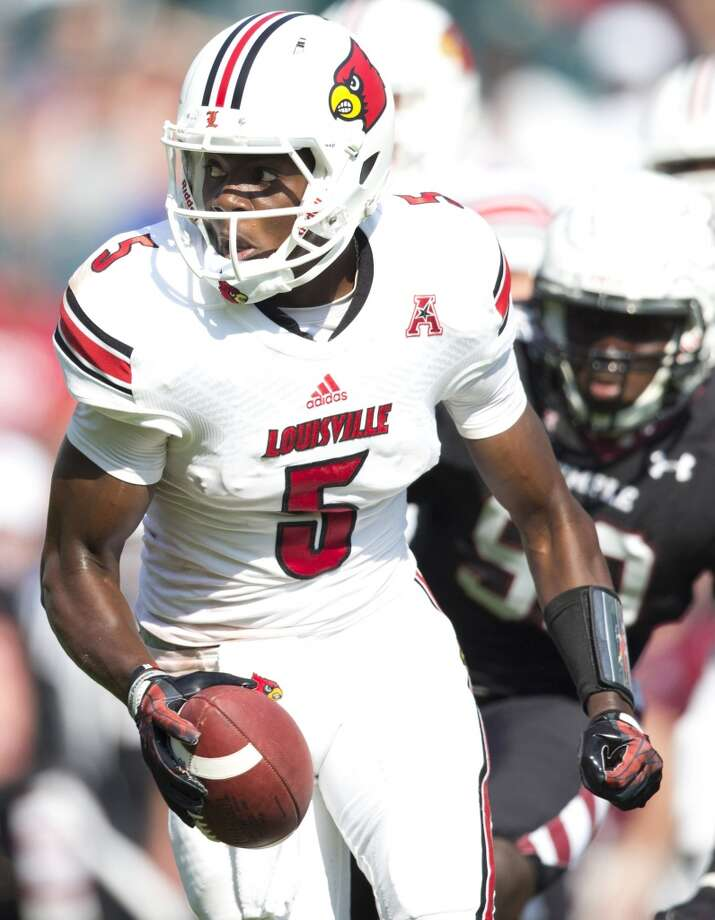 Teddy Bridgewater 10/1Louisville, Junior, QBStats: 125-176, 1,872 yards, 18 TDs, 2 INT Photo: Mitchell Leff, Getty Images