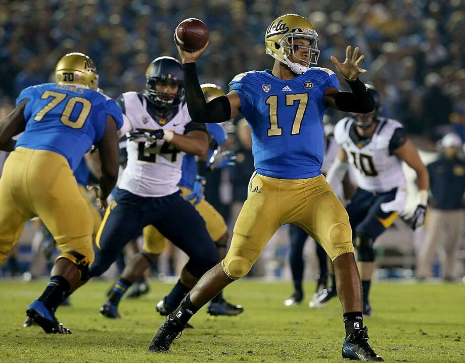 Brett Hundley 14/1UCLA, Sophomore, QBStats: 109-160, 1,469 yards, 61 rushes, 260 yards, 3 TDs Photo: Luis Sinco, McClatchy-Tribune News Service