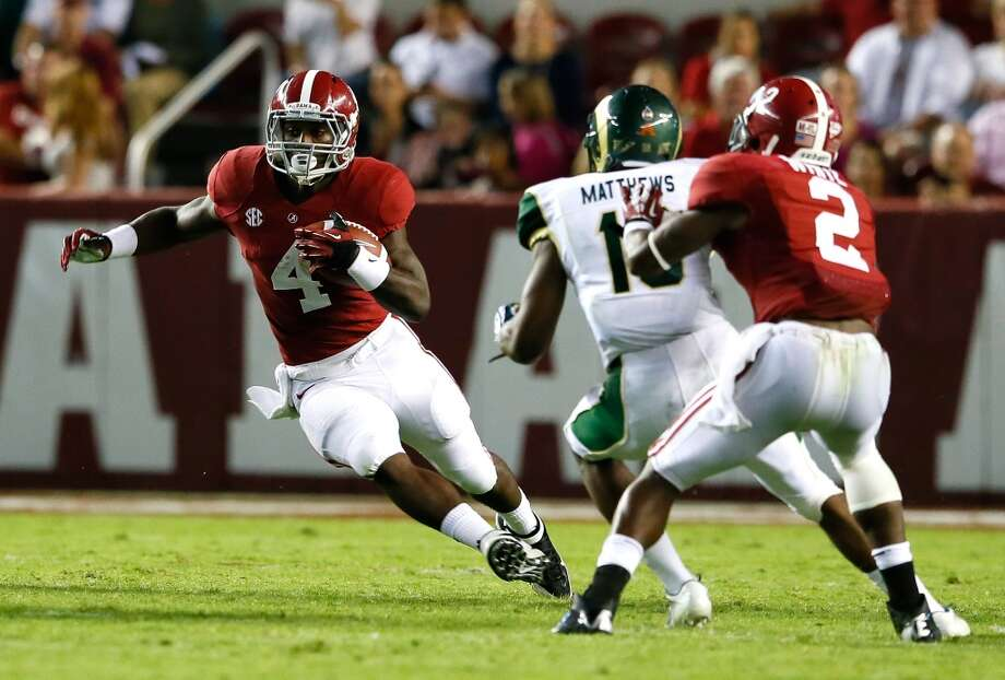 T.J. Yeldon 40/1Alabama, Sophomore, RBStats: 88 carries, 569 yards, 6 TDs Photo: Kevin C. Cox, Getty Images