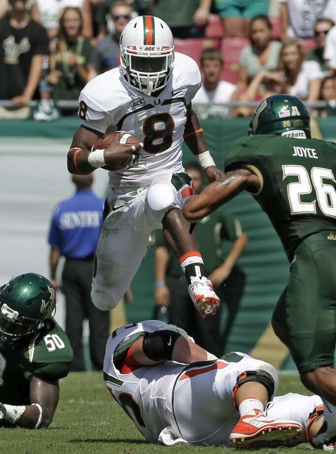 Duke Johnson 50/1Miami, Sophomore, RBStats: 84 carries, 572 yards, 4 TDs Photo: Chris O'Meara, Associated Press