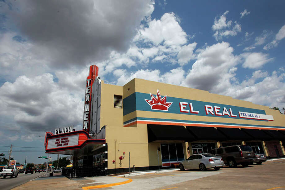 An outside view of the old movie theater that was converted into the popular restaurant El Real. Photo: Johnny Hanson, Houston Chronicle / © 2011 Houston Chronicle