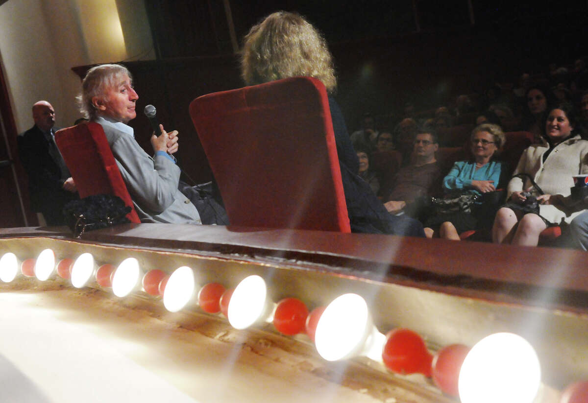 """Gene Wilder hosts a screening of """"See No Evil, Hear No Evil,"""" as part of the annual Avon Theatre's Wilder's Picks at the Avon in Stamford, Conn., Oct. 16, 2013. Wilder's wife Karen interviewed him before he took questions from the audience. The film was the third pairing of he and Richard Pryor."""