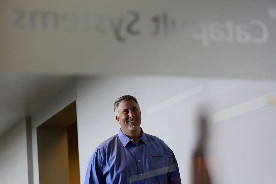 Jim Booth is general manager of Catapult Systems San Antonio, a Microsoft-focused consulting company. Photo: Lisa Krantz / San Antonio Express-News