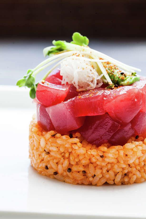 Fresh salmon tartare. (Photo: Julie Soefer)
