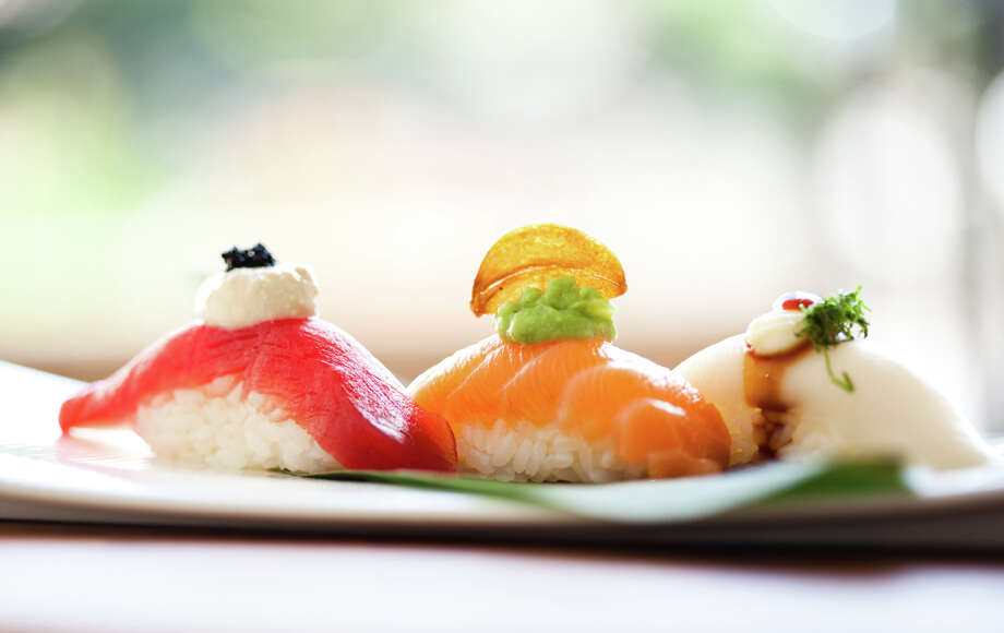 Assorted nigiri sushi. (Photo: Julie Soefer)