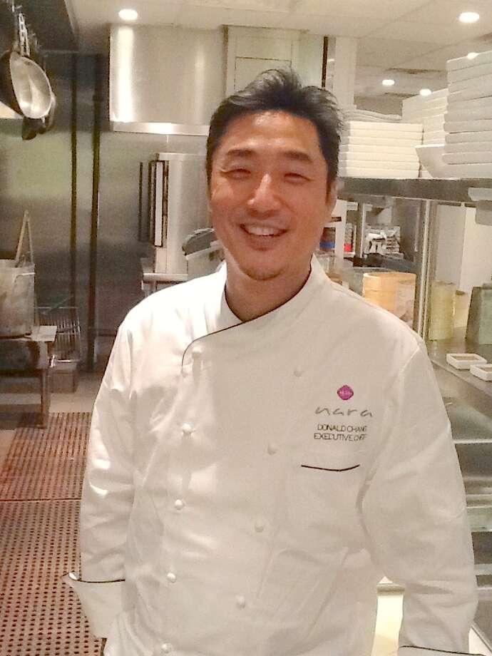 Executive chef Donald Chang in Nara's kitchen. (Photo: Greg Morago) Photo: Picasa