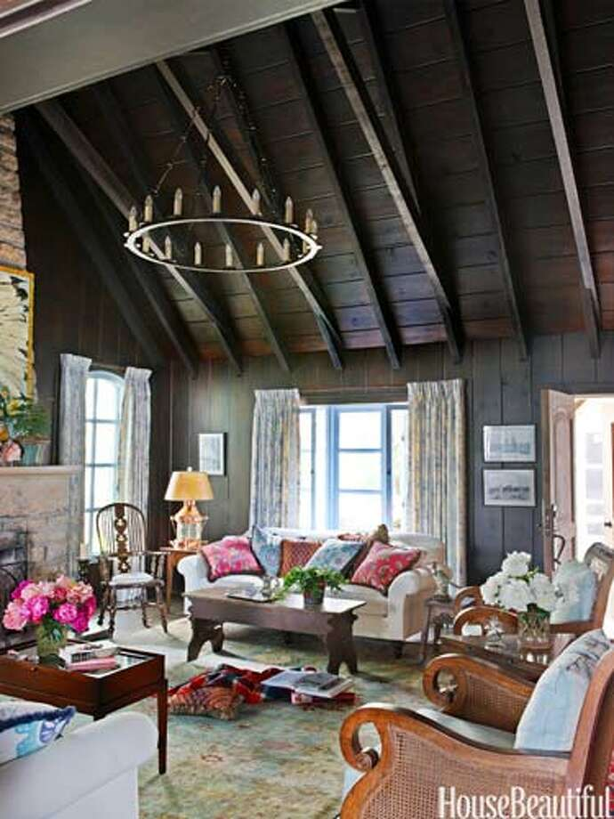 10 Cozy Rustic Rooms Sfgate