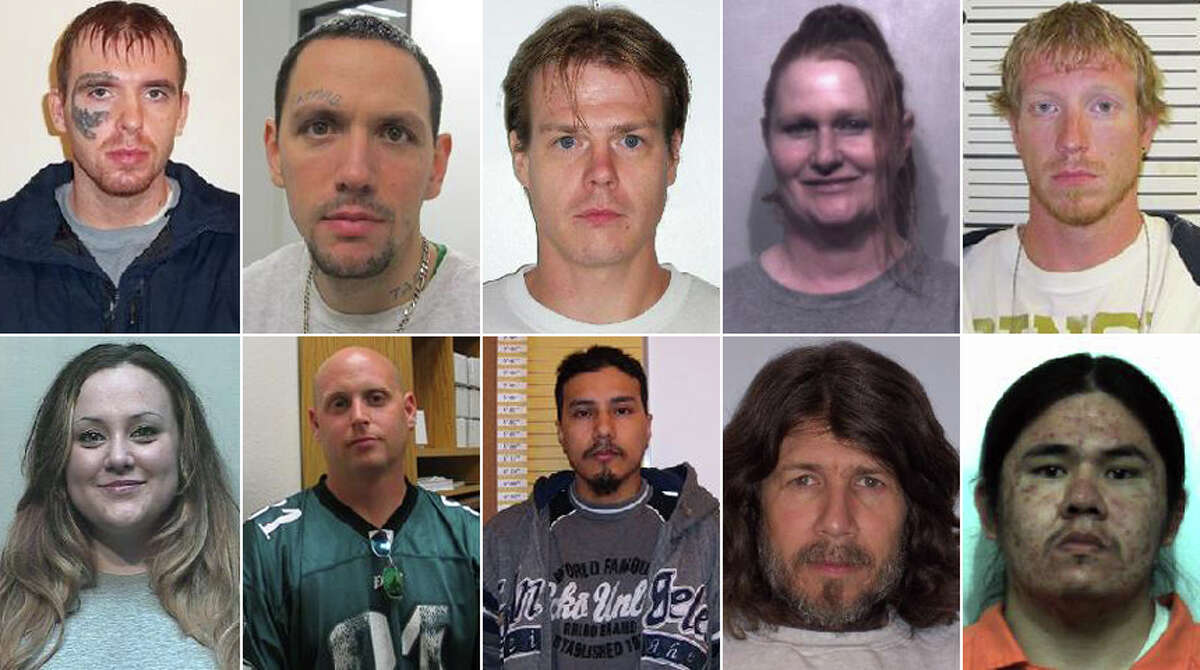 The Department of Corrections is currently looking for dozens of violent felons and sex offenders who've violated their parole. Click through for a look at them.