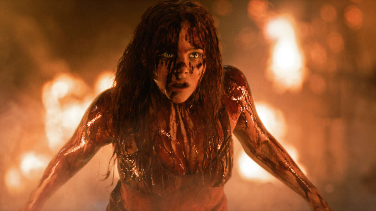 """Chloë Grace Moretz is a tormented teen with telekinetic powers in """"Carrie."""""""