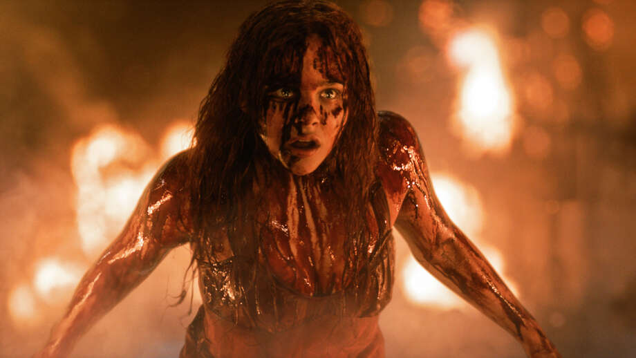"Chloë Grace Moretz is a tormented teen with telekinetic powers in ""Carrie."" Photo: Uncredited, HOEP / Sony Pictures"