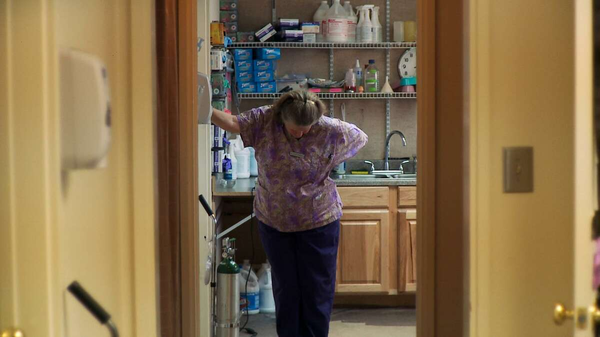 """New Mexico Dr. Susan Robinson is shown in a scene from Martha Shane and Lana Wilson's """"After Tiller,"""" a documentary about the last four doctors in the U.S. who provide third-trimester abortions."""