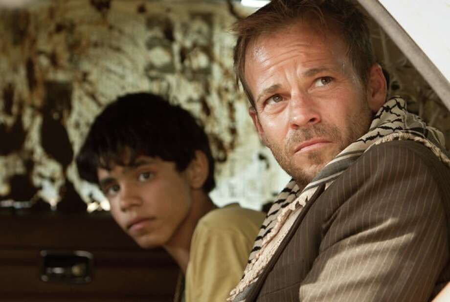 """Stephen Dorff plays an Israeli pilot and Abdallah El Akal plays a boy named  Fahed who becomes his captor in """"Zaytoun."""" Photo: Courtesy Photo / ONLINE_YES"""