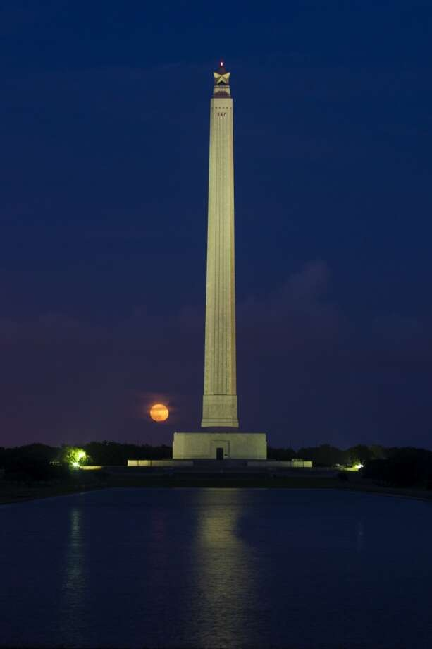 The San Jacinto Monument  is 12.31 feet taller than the Washington Monument.