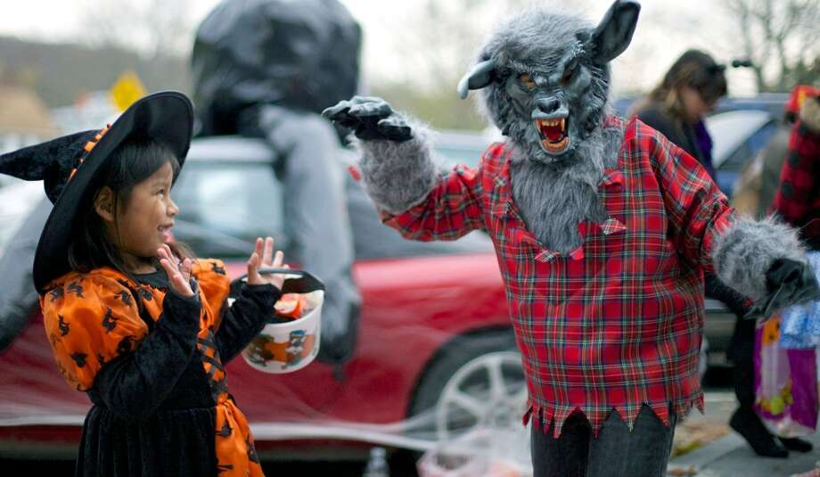 "Halloween Trunk Or Treet, New Milford — This ""safe alternative"" to trick or treating lets kids retrieve candy at decorated vehicles parked around the town green. Thursday, Oct. 31, 5:30-7:30 p.m. Main and Railroad Street. 860-355-6050. Photo: Trish Haldin, Norm Cummings"