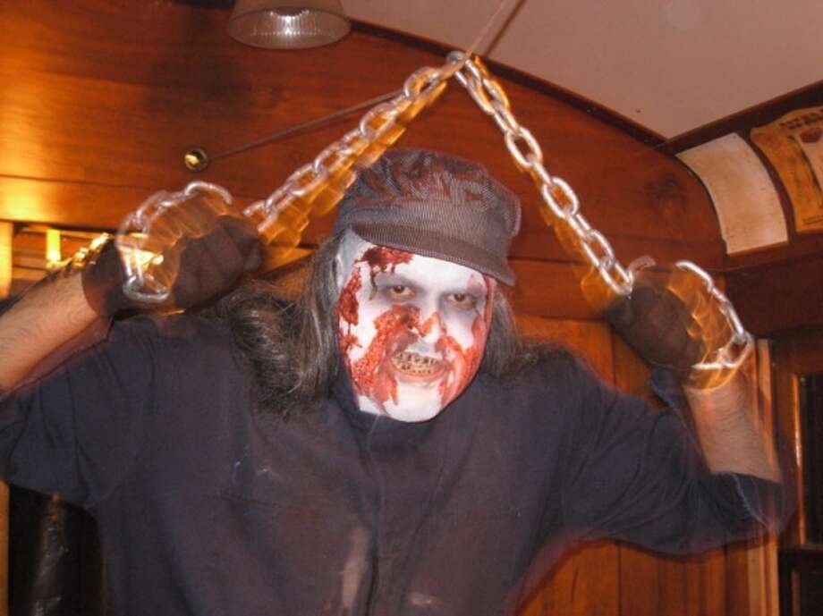 Rails to the Darkside, Connecticut Trolley Museum, East Windsor -- Haunted trolley ride featuring live actors in costume. Fridays, Oct. 18 and 25; Saturday, Oct. 19 and 26, 7-9:30 p.m. $13, $8 for children 12 and younger. 58 North Road, 860-627-6540, www.ct-trolley.org.